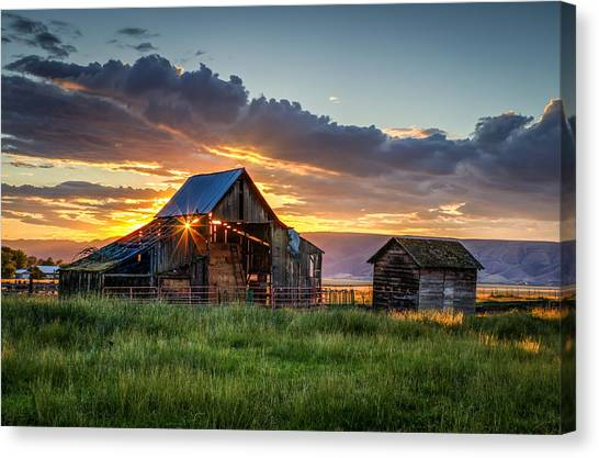 Wolff Barn Canvas Print