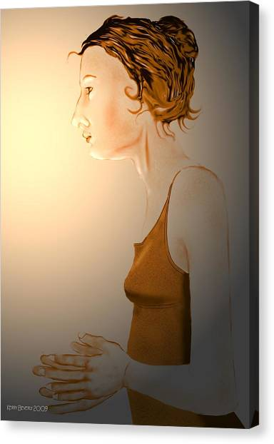 Woman 15 Canvas Print
