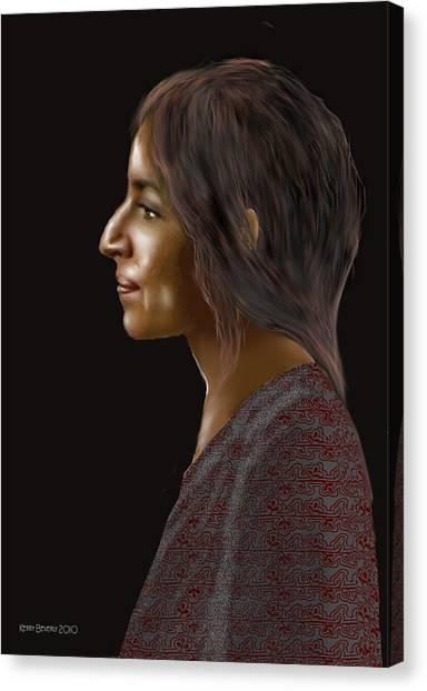 Woman 20 Canvas Print