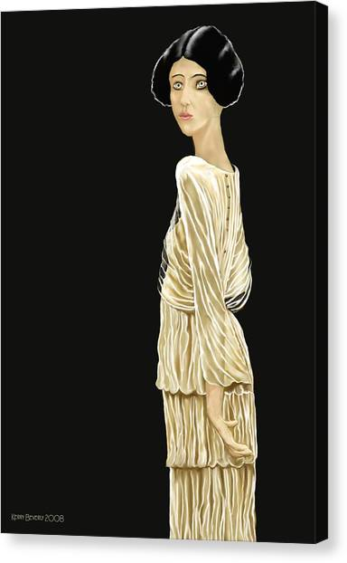Woman 36 Canvas Print