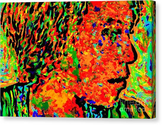Woman In Doubt V Canvas Print