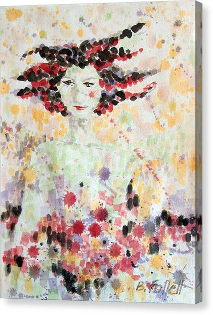 Woman Of Glory Canvas Print