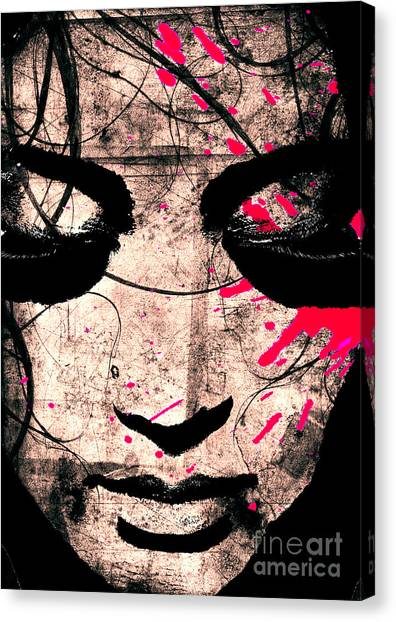 Woman Canvas Print by Ramneek Narang
