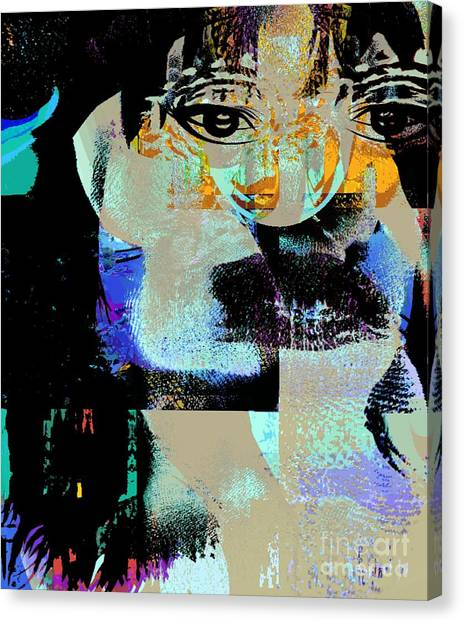 Womanhood Not For Sale Canvas Print by Fania Simon