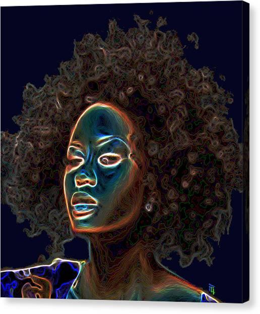 Womans Essence IIi  Canvas Print by  Fli Art