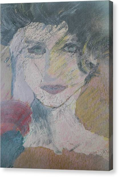 Woman's Portrait - Untitled Canvas Print