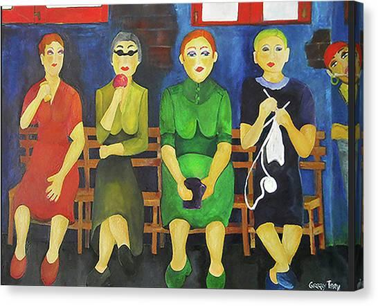 Women Of Budapest Canvas Print