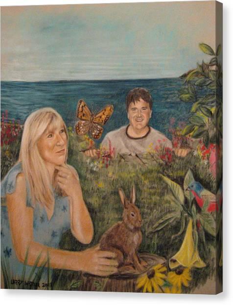 Wonder World Canvas Print by Larry Whitler