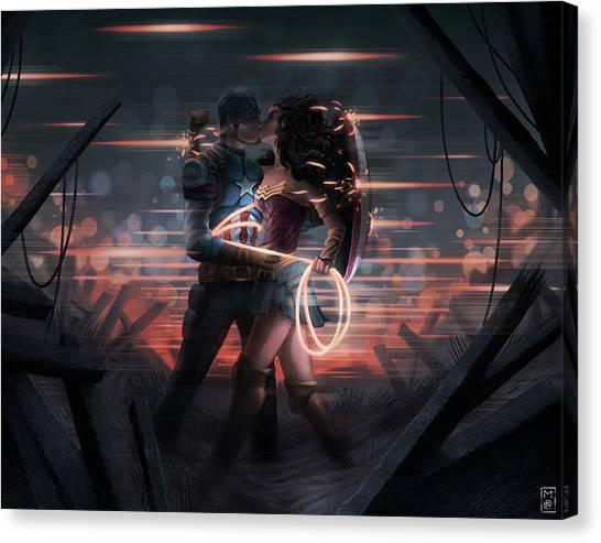 Lassos Canvas Print - Wonderful Captain by Matt Akin