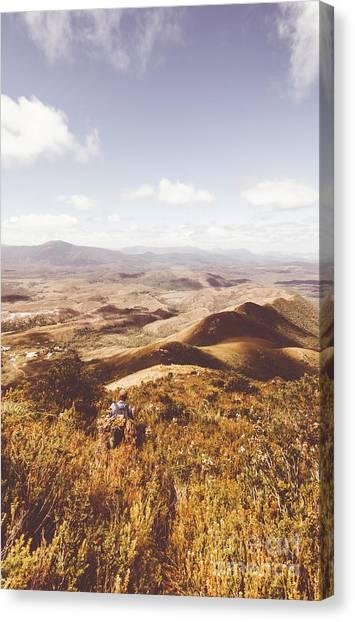 Backpacks Canvas Print - Wonderful West Coast Tasmania Views by Jorgo Photography - Wall Art Gallery
