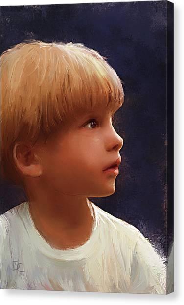 Wonderment Canvas Print