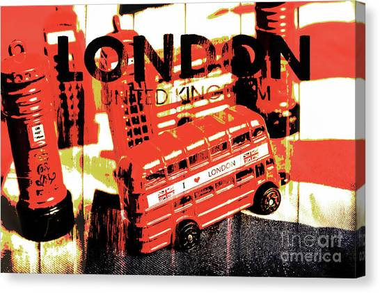 Street Signs Canvas Print - Wonders Of London by Jorgo Photography - Wall Art Gallery