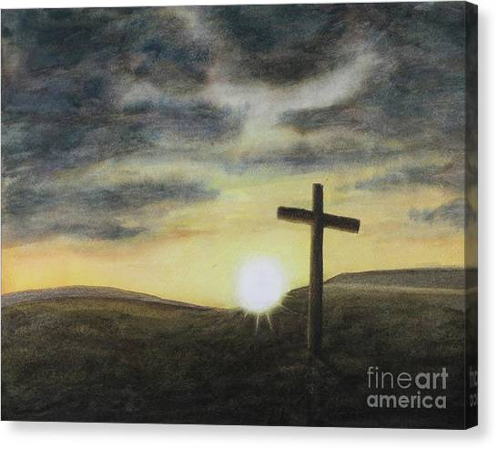 Wondrous Cross Canvas Print