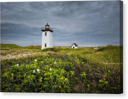 Wood End Light Canvas Print