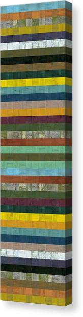 Wooden Abstract X  Canvas Print