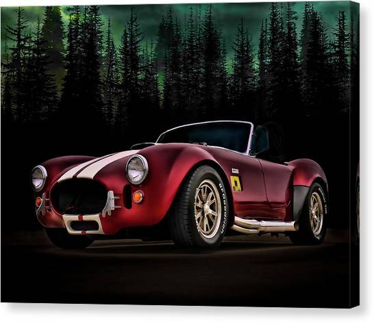 Muscles Canvas Print - Woodland Cobra by Douglas Pittman
