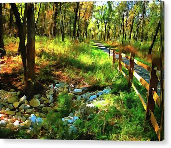 Woodland Symphony Canvas Print