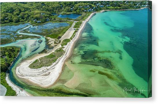 Woodneck Beach Canvas Print