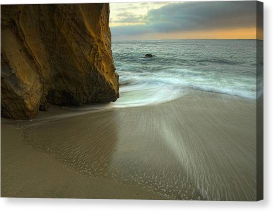 Wood's Cove Canvas Print by Gary Zuercher