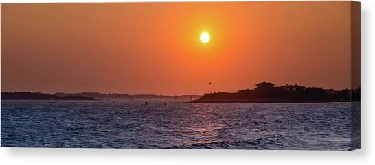 Woods Hole Sunset Canvas Print