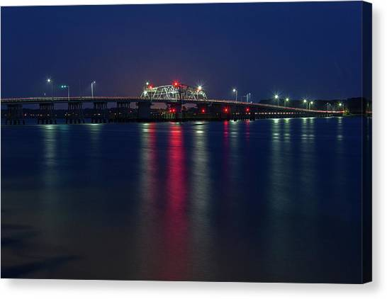 Woods Memorial Bridge Canvas Print