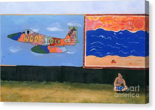 Woodstock 99 Revisited Canvas Print