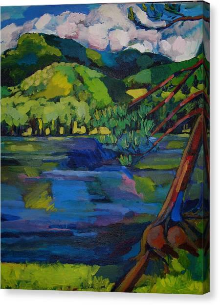 Woodstock Canvas Print by Doris  Lane Grey