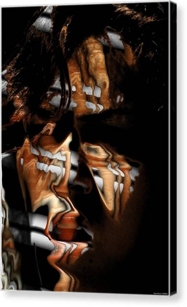 Wooow Canvas Print by Shan Peck