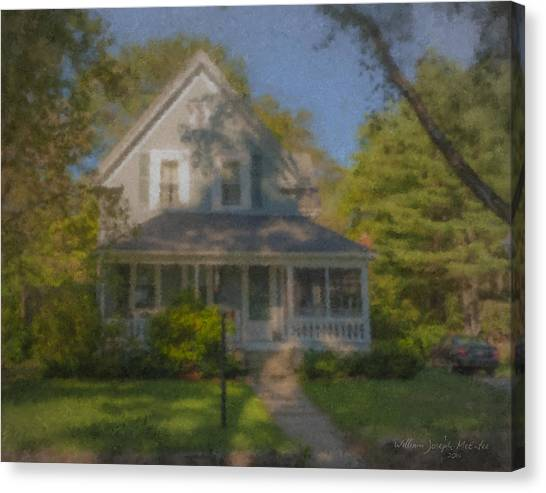 Wooster Family Home Canvas Print