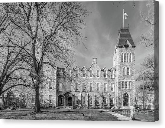 Worcester Polytechnic Institute Boyton Hall Canvas Print by University Icons