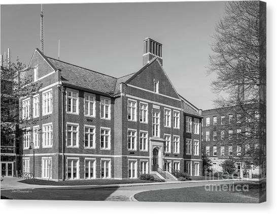 Graduate Degree Canvas Print - Worcester Polytechnic Institute Higgins Hall by University Icons