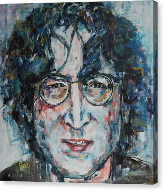 Working Class Hero Lennon Canvas Print