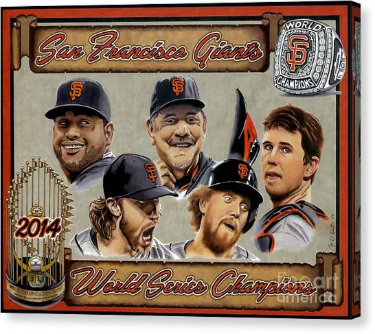 World Champs Canvas Print