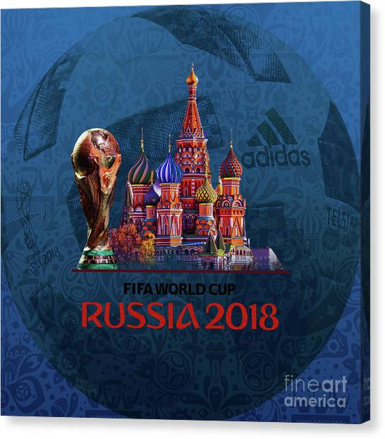 Lionel Messi Canvas Print - World Cup In Russia 2018 by Gull G