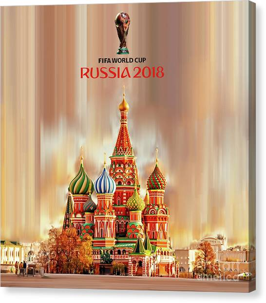 Lionel Messi Canvas Print - World Cup Russia 2018  by Gull G