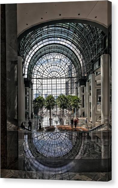 World Financial Center Nyc Canvas Print by Robert Ullmann