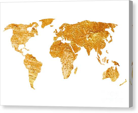 World map silhouette for sale painting by joanna szmerdt world map silhouette for sale canvas print by joanna szmerdt gumiabroncs Choice Image