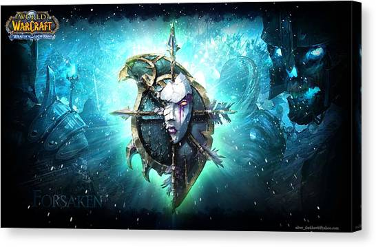 World Of Warcraft Canvas Print - World Of Warcraft Wrath Of The Lich King by Super Lovely