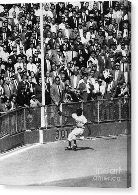 Yogi Canvas Print - World Series, 1955 by Granger
