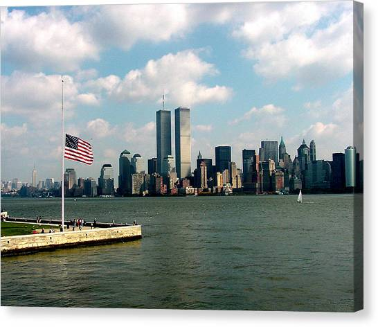 World Trade Center Remembered Canvas Print