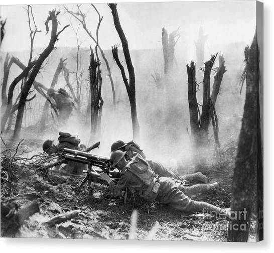 Artcom Canvas Print - World War I: Battlefield by Granger