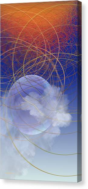 World Wide Web Canvas Print
