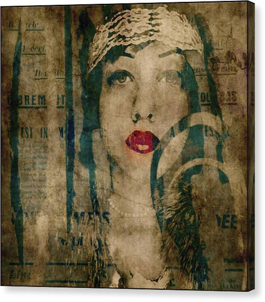 Blend Canvas Print - World Without Love  by Paul Lovering