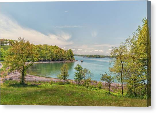 Worlds End Hingham Massachusetts Canvas Print