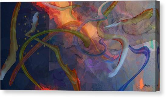 Wormholes Canvas Print