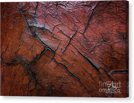 Worn And Weathered Canvas Print