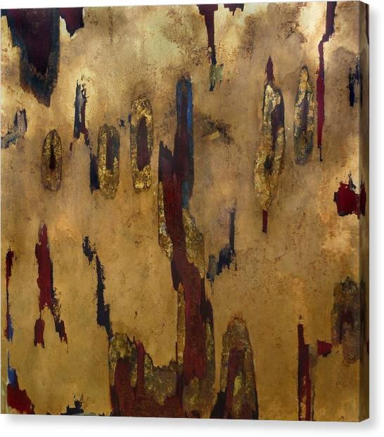 Worn Through Canvas Print by Wayne Berger