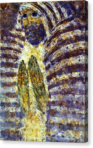 Worship B Canvas Print