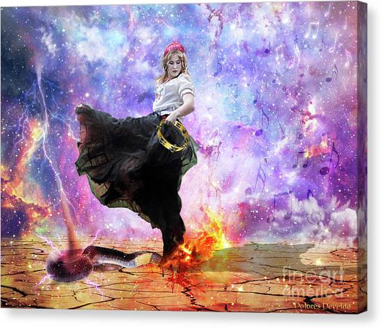 Worship Warrior Canvas Print