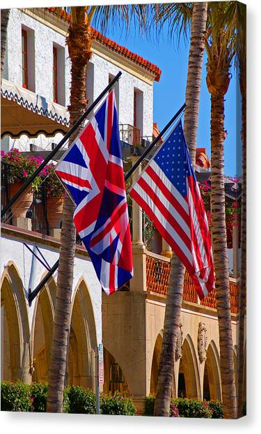 Worth Flags Canvas Print